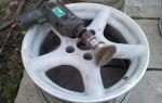 Восстановление покрытия литых дисков своими руками