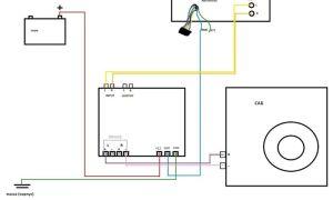 Схема подключения сабвуфера и усилителя к магнитоле