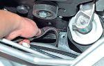 Как поменять ремень генератора на приоре своими руками
